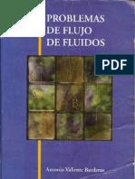 Problemas de Flujo de Fluídos, Segunda Edición [Antonio Valiente]