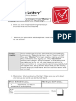 The Lottery Reading Guide