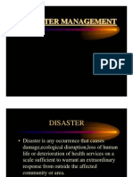 Disaster Managent