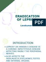 Eradication of Leprosy