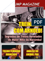 Revista Max Pump - Treinando Com Arnold !