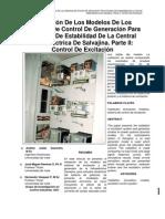 Validacion Modelos Sistemas Control Generacion Salvajina ParteII