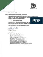 Redistricting Redo Request for Item Memo 10-26-11