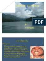 Prevention of Tetanus