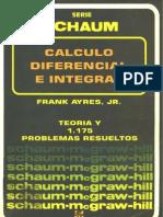 Mc Graw Hill - Calculo Diferencial E Integral - Teoria Y 1175 Problemas Resueltos