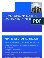 Syndromic Approch to Case Management of Stds