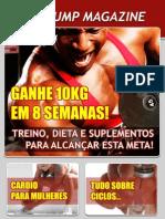 Revista Max Pump - Ganhe 10kg Em 8 Semanas