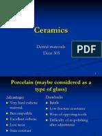 Lecture 13 & 14 - Ceramics (Slides)