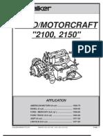 Motorcraft 2150 Carb | Carburetor | Throttle