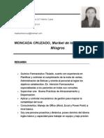 Curriculum Maribel 2