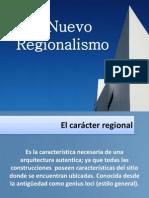 Perspectivas Del Nuevo Regionalismo