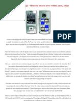 Manutenção de celulares e codigos de serviços