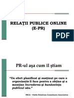 Relatii Publice Online (E-pr)