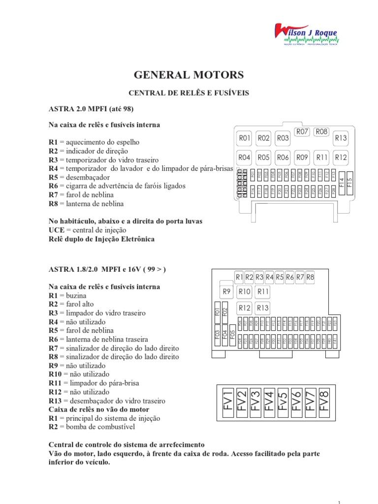 Reles Fusiveis Localiza 199 195 O Gm Fiat Ford Vw