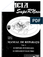 Dacia SupeRNova - Manual Service Vol