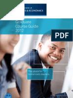 GSBE-Coursework-Prospectus-2011-2012