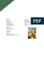 Mulok - Makanan Khas Palembang (Recipe, Prototype Ver. 1.0)