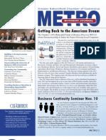 METRO Business Journal - November 2011