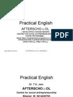 Practical English 25 September
