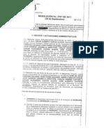 Resolución del CNE sobre la inscripción de la cédula de Lina Moreno de Uribe
