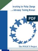 Advocacy Manual