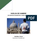 Inician Huelga de Hambre en Contra del Abuso del Clero Catolico en Italia - 31 de Octubre 2011
