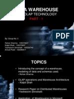 Data Warehousing Part 1