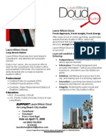 Doud Campaign Flyer - First Campaign