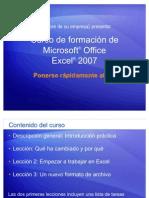 Curso de formación de Microsoft® EXCEL PONERSE AL DIA