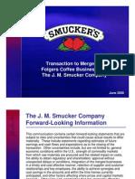 Folgers Website Presentation