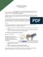 Physics Horse Wagon Problem