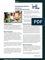 Improving Early Childhood Education (ECE) Jobs