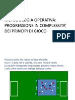 Progressione in a Operativa