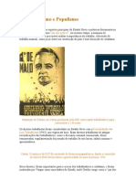 CARLOS-O Trabalhismo e Populismo