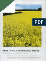 """Sharratt, """"Genetically Engineered Foods"""""""