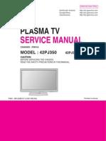 Lg 42pj350 Chassis Pd-01a Plasma Tv Sm