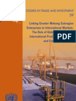 Linking Greater Mekong Subregion Enterprises to International Markets