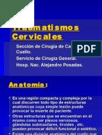Traumatismos Cervicales