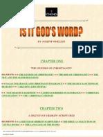 Is it gods word