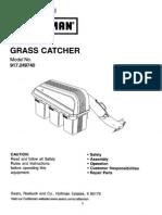 Craftsman Bagger Owners Manual