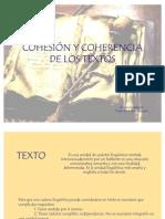Cohesión y coherencia de los textos