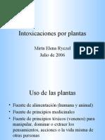 Intoxicaciones Por Plantas Nuevo