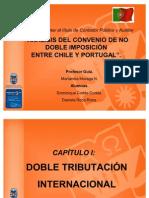 Presentación Análisis del Convenio de No Doble Imposición entre Chile y Portugal.