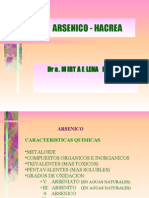 Presentacion de Arsenico 2005