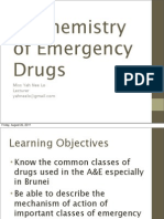 Biochemistry of Emergency Drugs