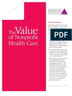 Value for NPO Health Care