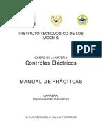 Controles Eléctricos - Manual de prácticas