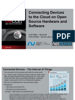 Connecting Devices to the Cloud on Open Source Hardware and Software Presentation