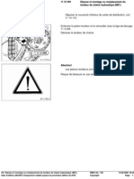 RA Dépose Et Montage Ou Rem Placement Du Tendeur de Chaîne Hydraulique (M51)