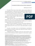 A controvérsia em torno da primeira obra latino-americana de Direito Administrativo